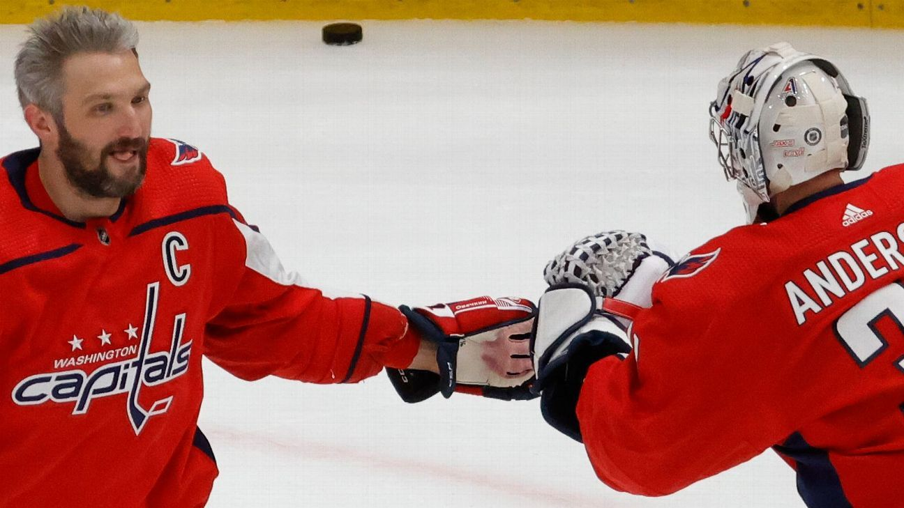 Finally at '100%,' Ovechkin returns in Caps' win