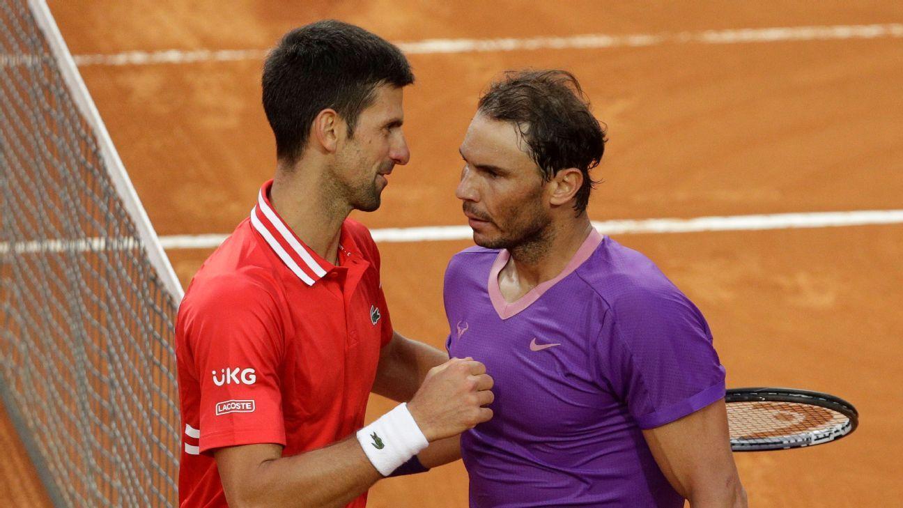 Nadal earns win in Djokovic rivalry, Rome title