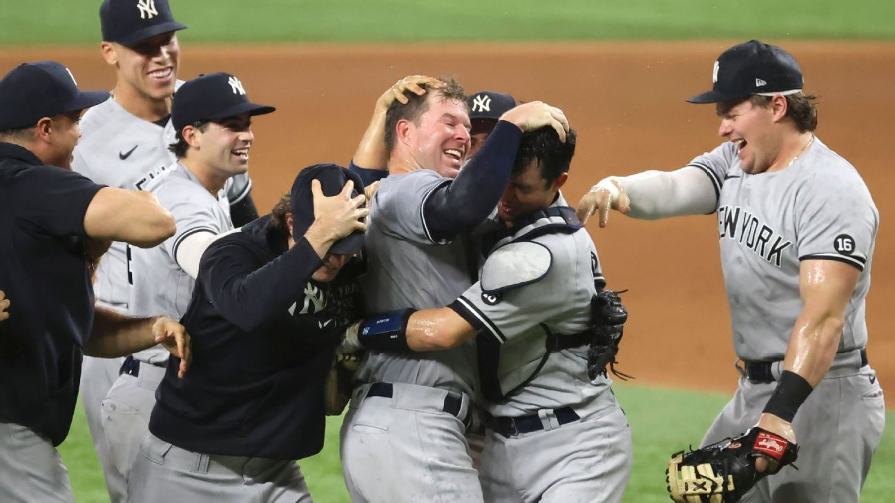What Corey Kluber's no-hitter might mean for the New York Yankees – ESPN