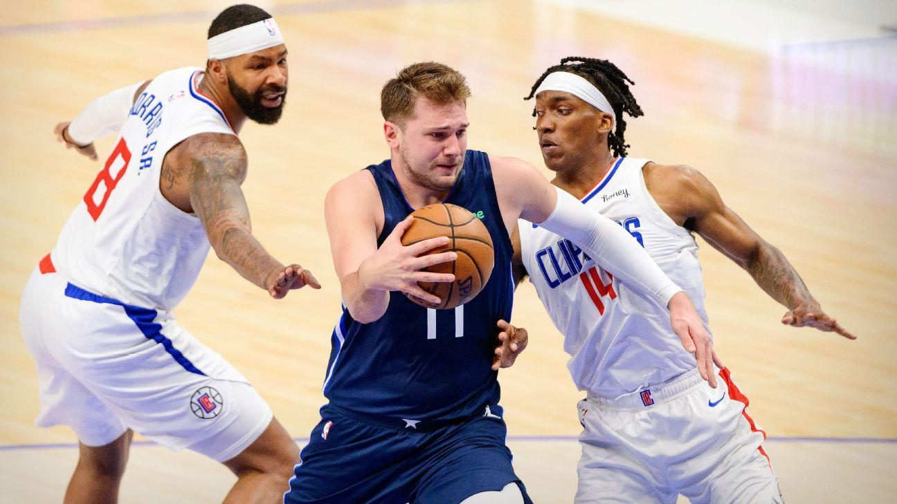 Doncic questionable for Game 4 with neck strain thumbnail
