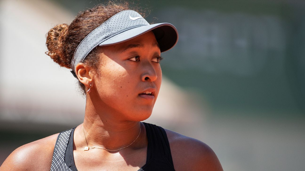 Naomi Osaka withdraws from French Open to 'take some time away' from tennis after controversy over media obligations – ESPN