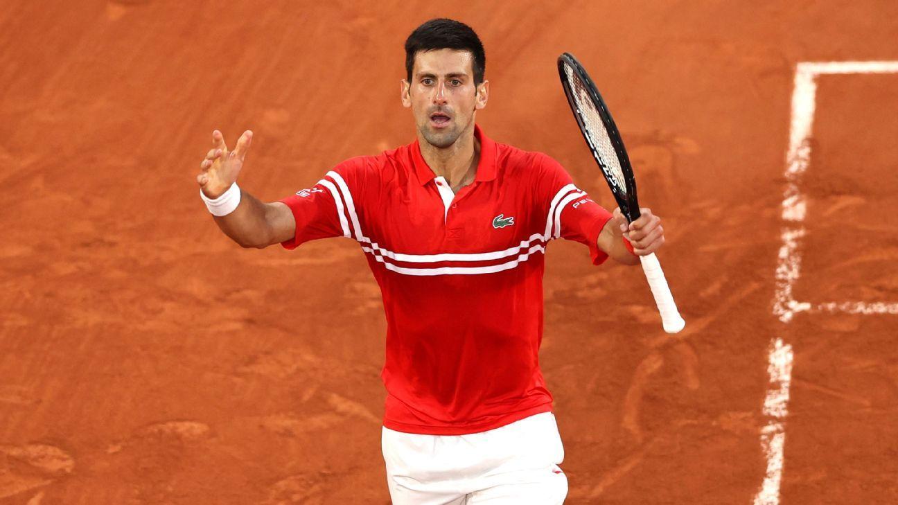 Novak Djokovic tops Rafael Nadal to reach French Open final – ESPN
