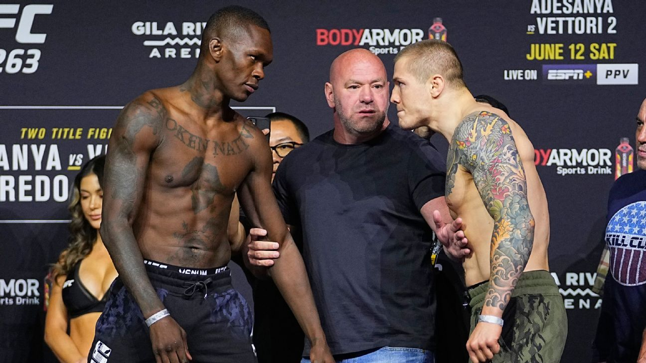 Live results and analysis for every bout on UFC 263 card