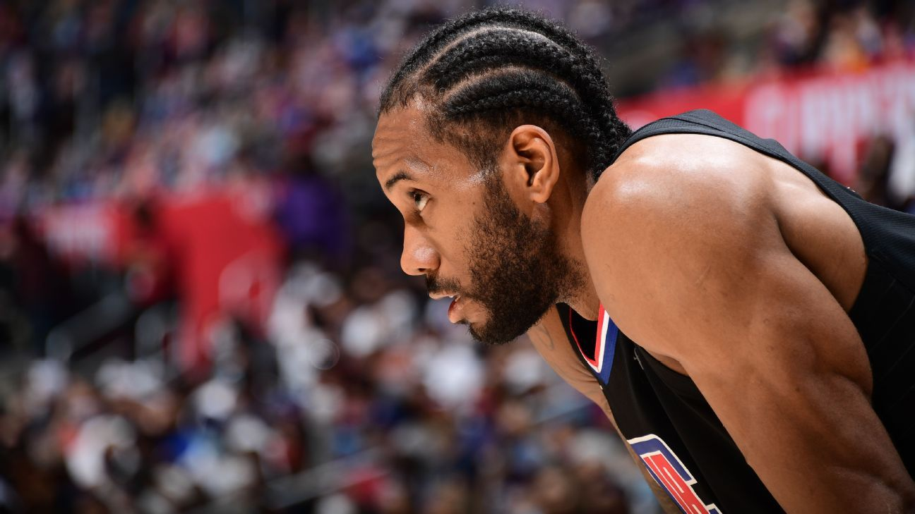 Kawhi Leonard once again 'leading the way' for LA Clippers who even series with Utah Jazz at 2-2 – ESPN