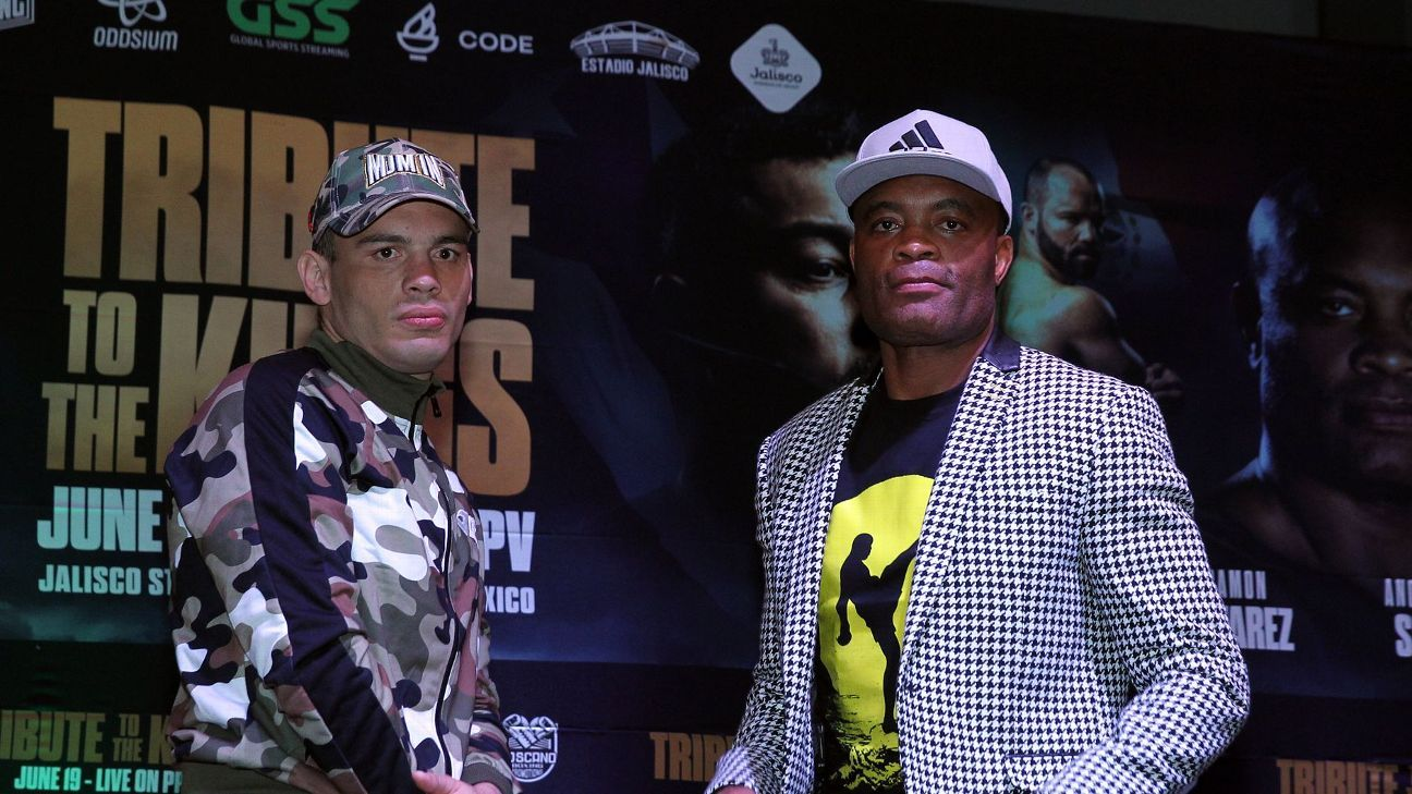 Julio Cesar Chavez Jr. misses weight by 2 pounds forfeits $100K to Anderson Silva – ESPN