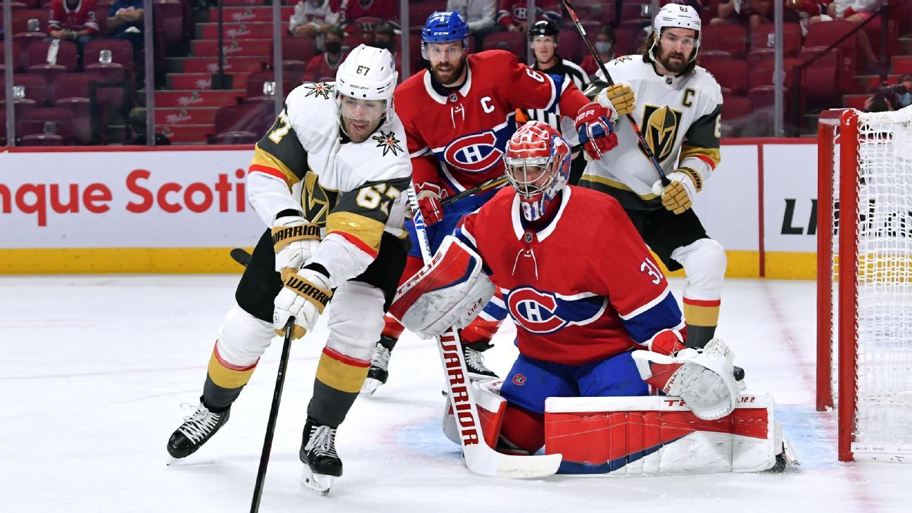 NHL Playoffs Daily: Vegas Golden Knights try to avoid elimination in Montreal – ESPN