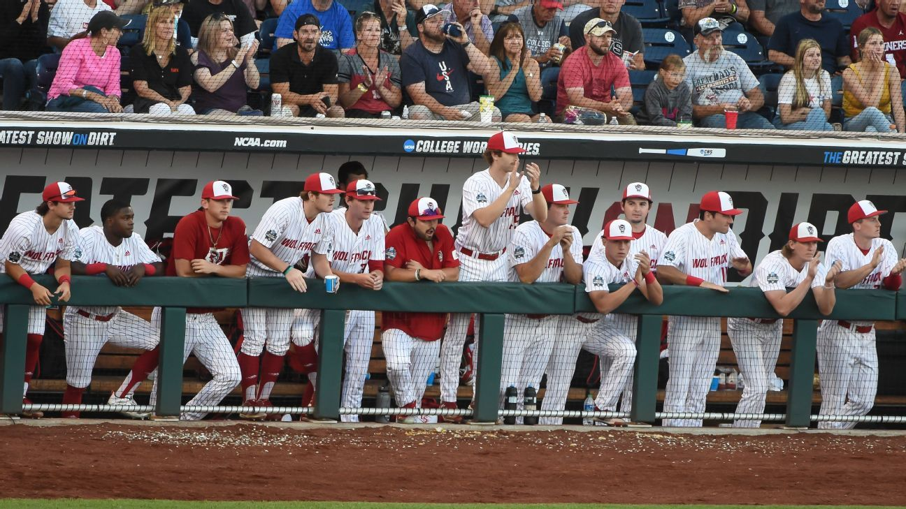 NC State facing COVID-19 issues, forcing delay of College World Series game against Vanderbilt