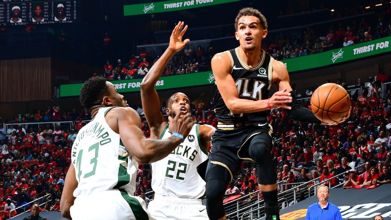 Atlanta Hawks' Trae Young: 'Frustrating' not being at 100 percent in Game 6 loss