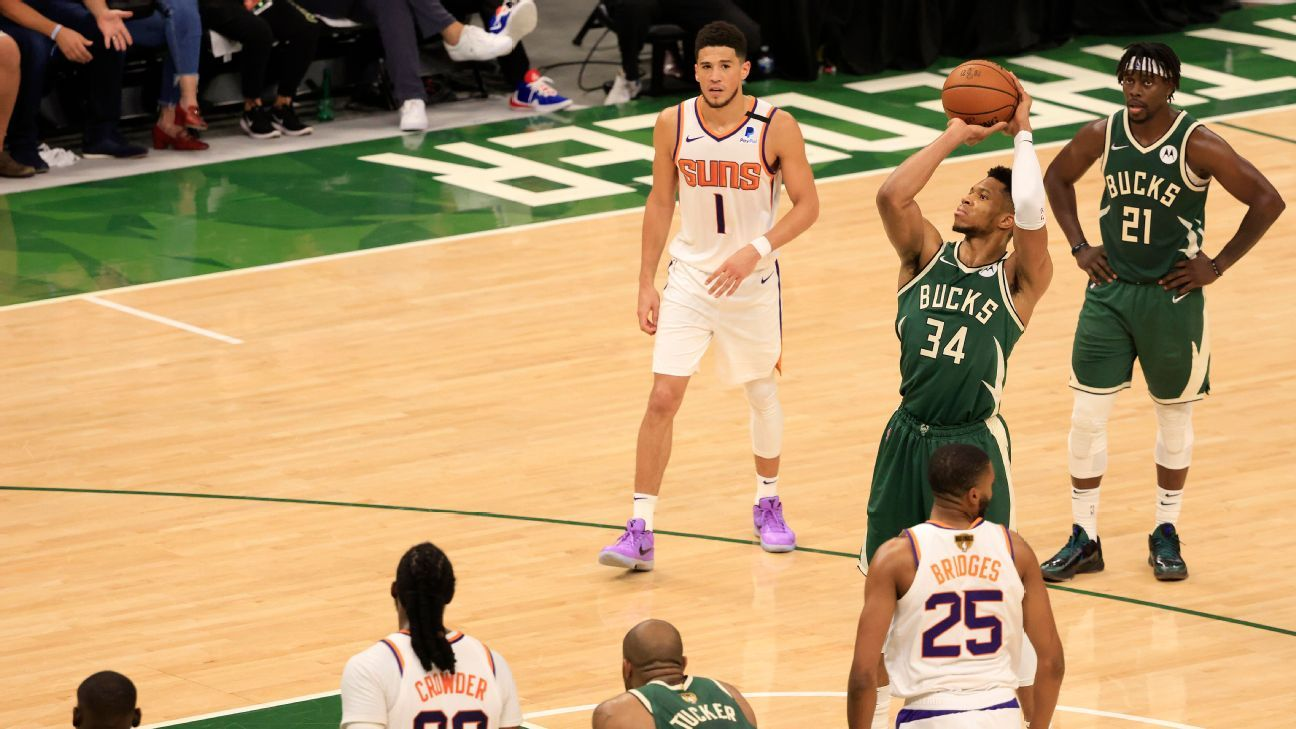 Deandre Ayton's foul trouble hampers Phoenix Suns in Game 3 loss as Monty Williams points out free throw disparity – ESPN