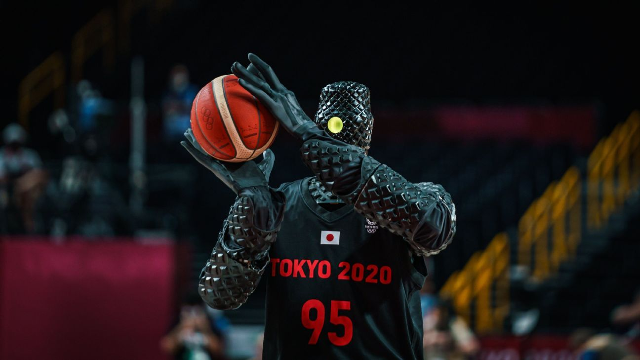 WATCH: Robot Plays Basketball at Olympics and Hits Perfect 3-pointers–to the Horror of Many