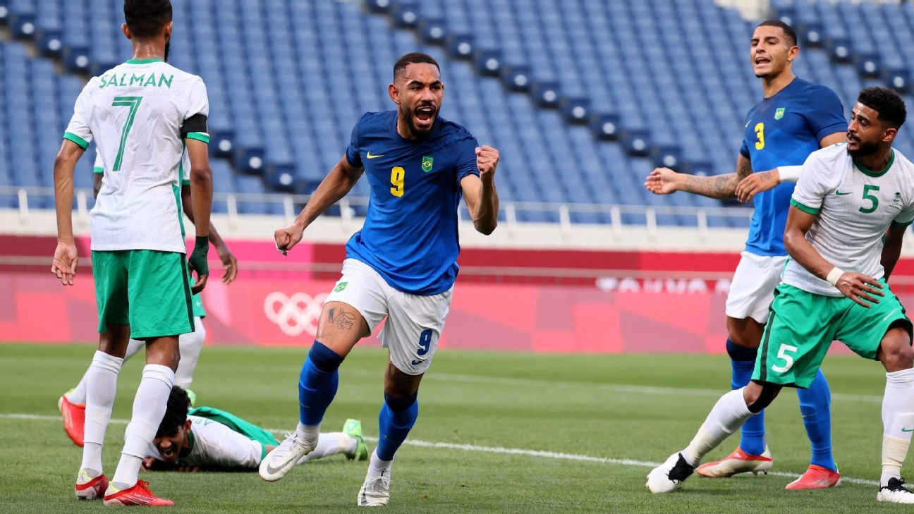 At Olympics, Matheus Cunha emerges as Brazil's potential future up front thumbnail