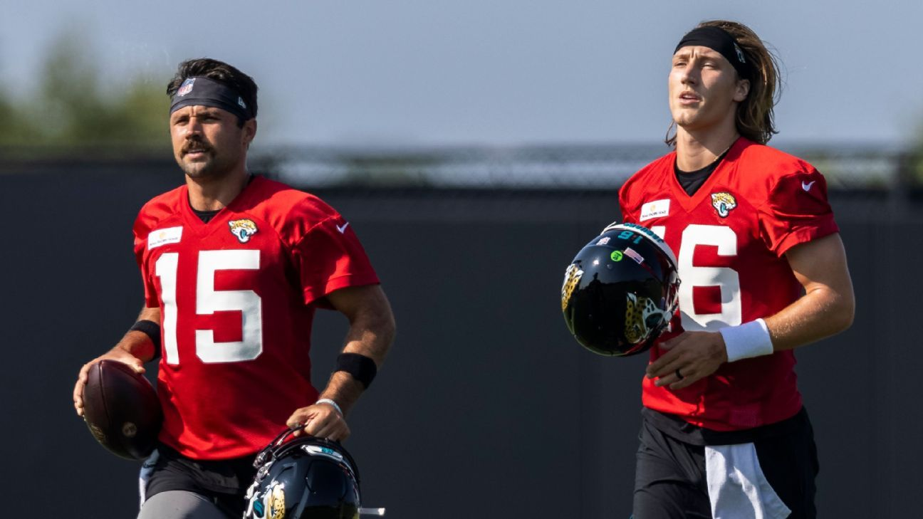 Jacksonville Jaguars coach Urban Meyer sets timetable for naming starting QB, but competition continues
