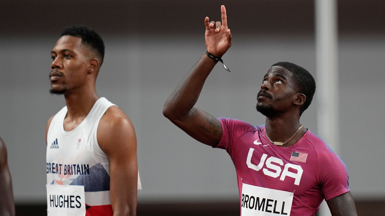 Olympics 2021: Trayvon Bromell is off to a rocky start in the 100 meters, but comebacks are his thing