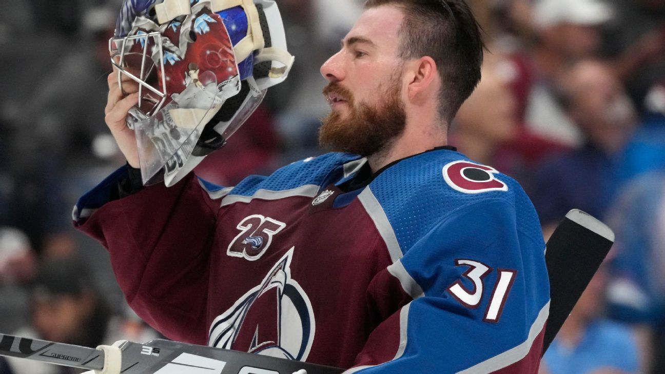 Source: NHL rejects Kraken's deal with Grubauer