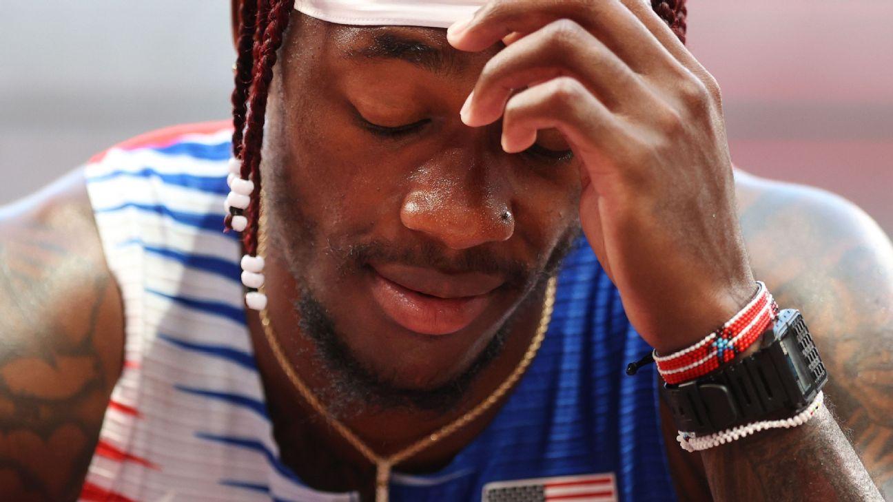 U.S. men's track fails to advance to 4x100 final