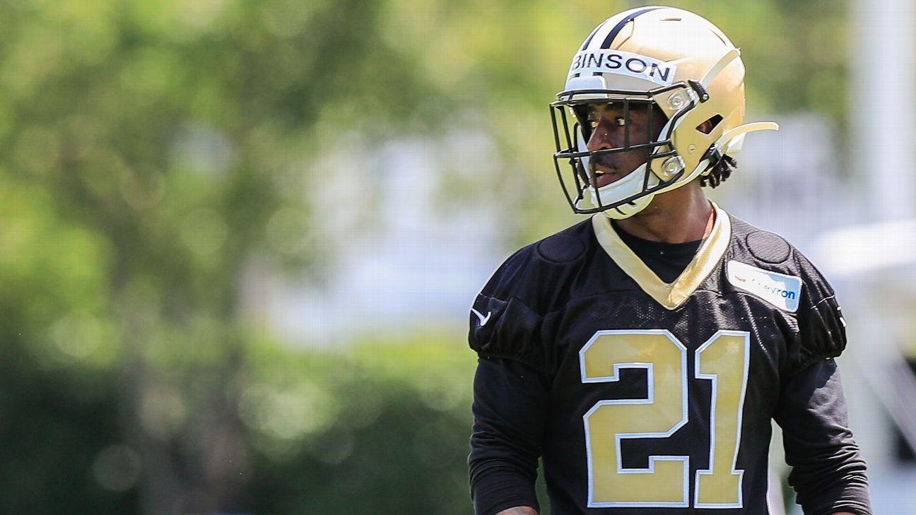 Robinson retiring, adding to Saints' CB dilemma thumbnail