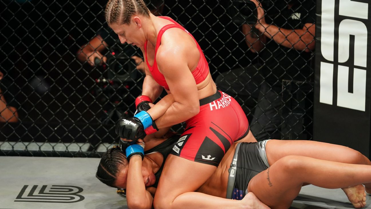 Kayla Harrison and Bruno Cappelozza dominate in semifinal wins, qualify for $1M PFL championship