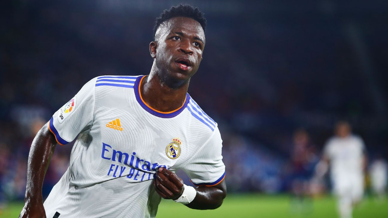 Real Madrid's Vinicius Jr. hasn't had time to hear his critics because he's been too busy becoming amazing
