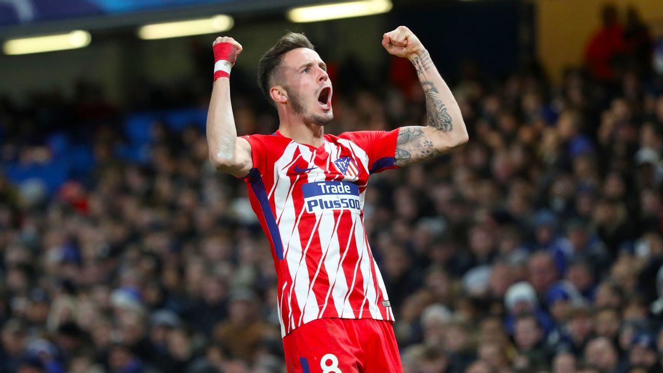 Chelsea is in negotiations with Atletico Madrid's Saul about a loan deal, while Manchester United is also intrigued, according to reports.