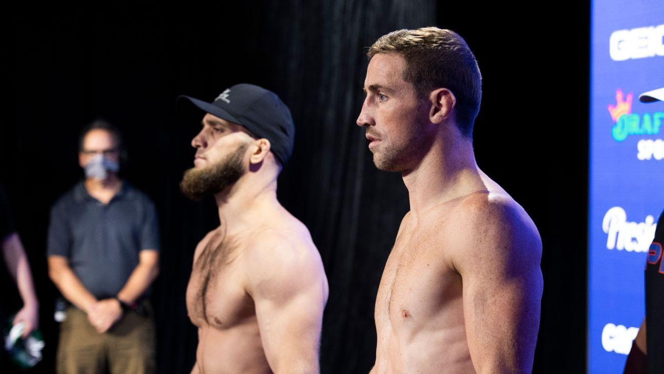 Live updates as PFL's light heavyweights, featherweights seek spot in $1M finals thumbnail