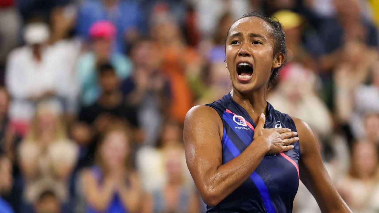 Leylah Fernandez 'not surprised' by memorable run to quarterfinals