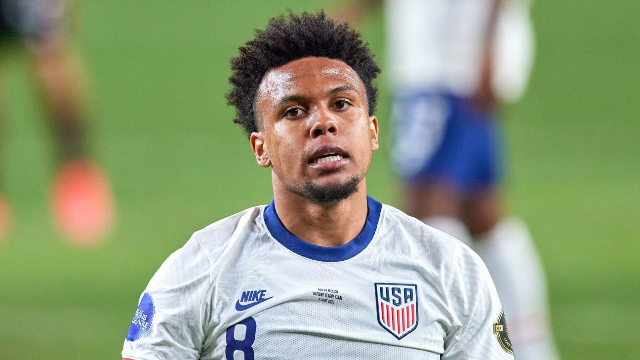 Sources: McKennie sent home for having visitor thumbnail