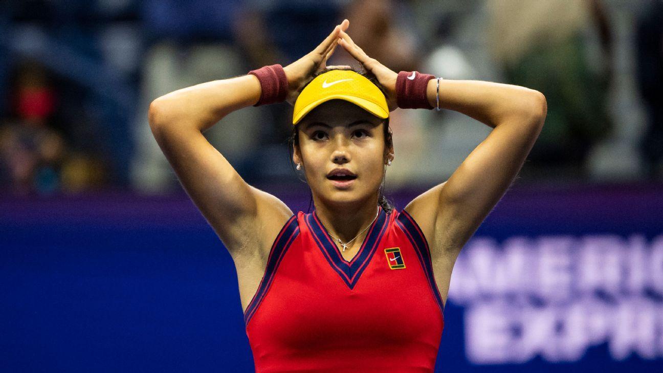 Emma Raducanu stuns Maria Sakkari to set up US Open final