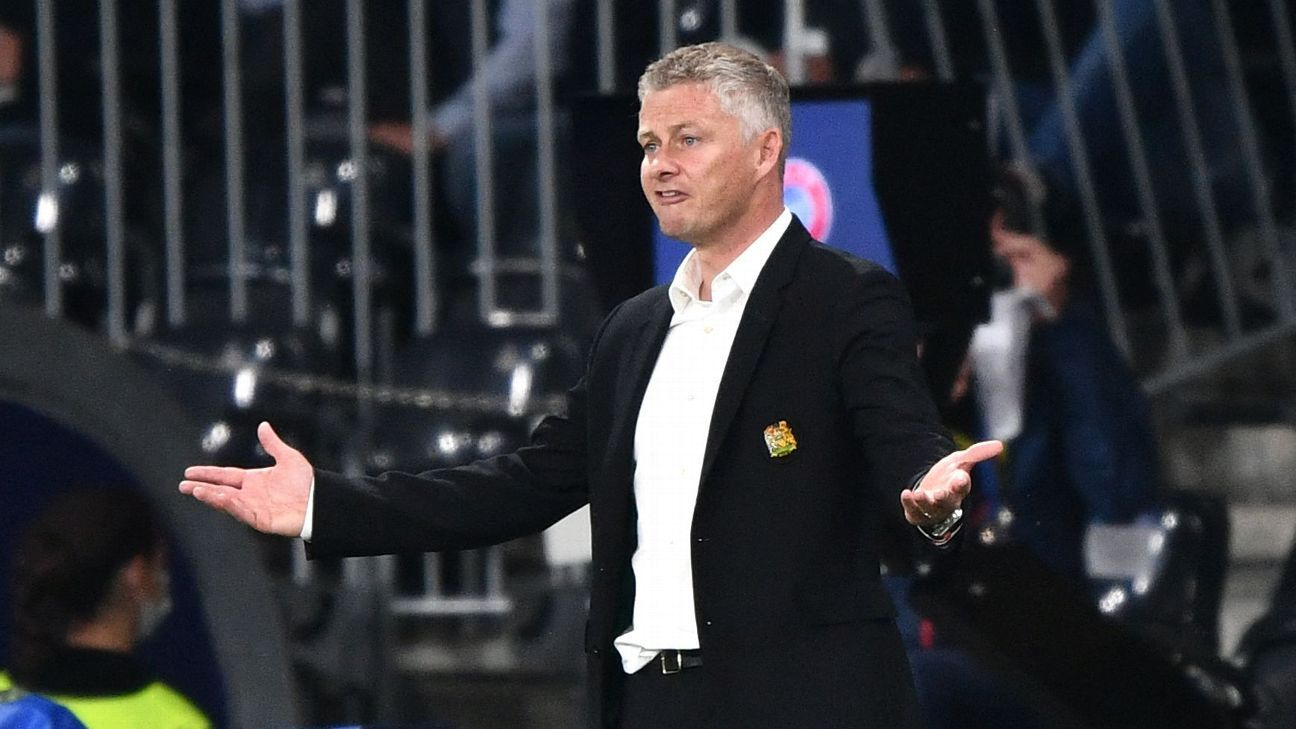 Manchester United's Solskjaer forced to defend tactics after shock loss to Young Boys - ESPN