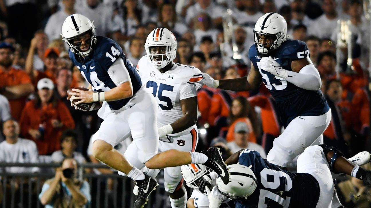 Apparent officiating mix-up by SEC crew costs Penn State a down, forces premature punt in win over Auburn