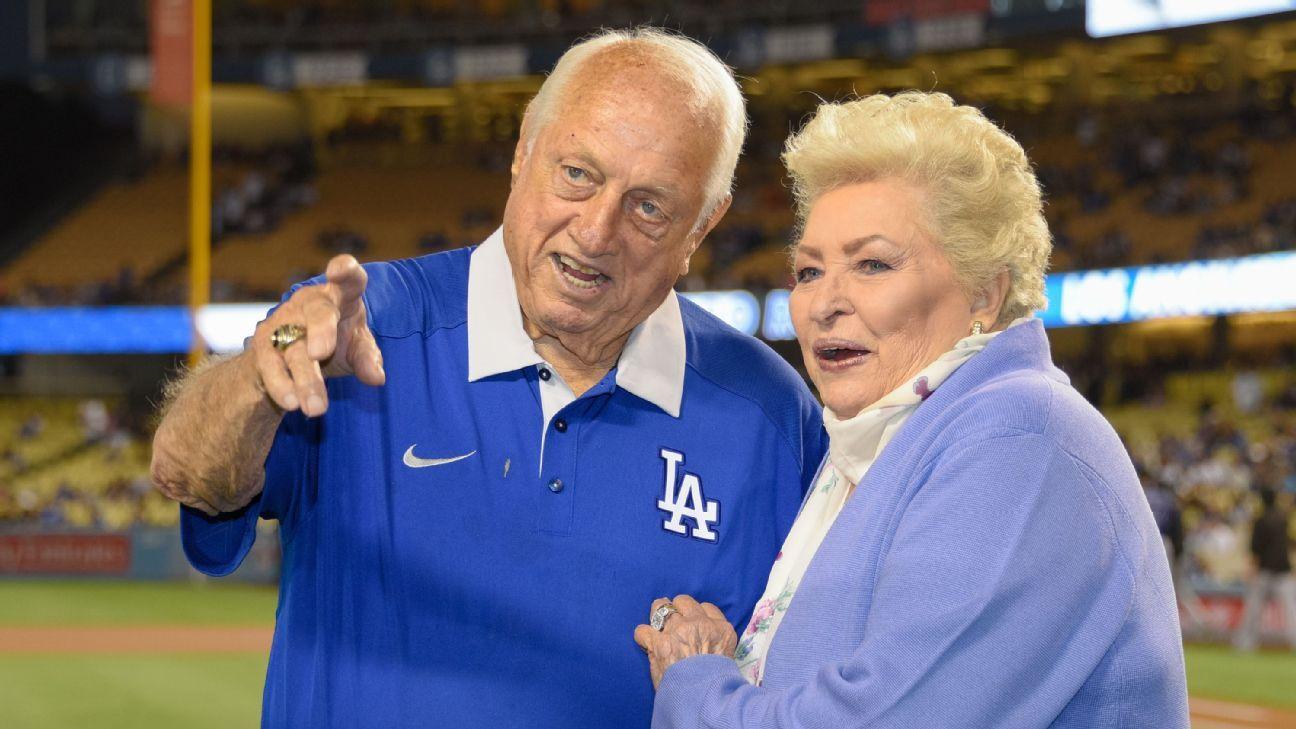 Dodgers: Jo Lasorda, viuda de Tom, fallece a los 91 años