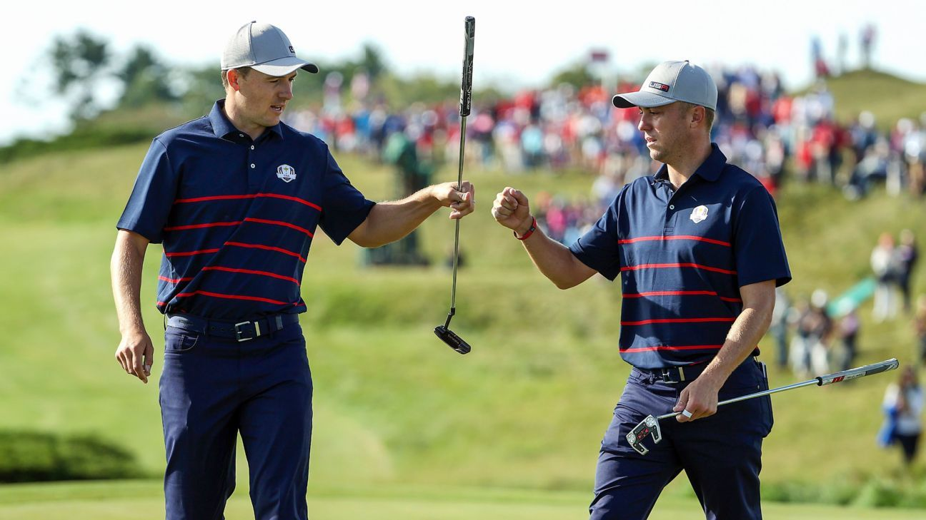 U.S. takes early 3-1 lead over Europe at Ryder Cup thanks to strong play in foursome matches
