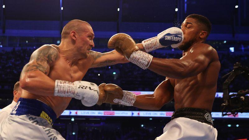 El boxeo perdió su pelea más grande en Fury-Joshua pero ganó una estrella en Oleksandr Usyk