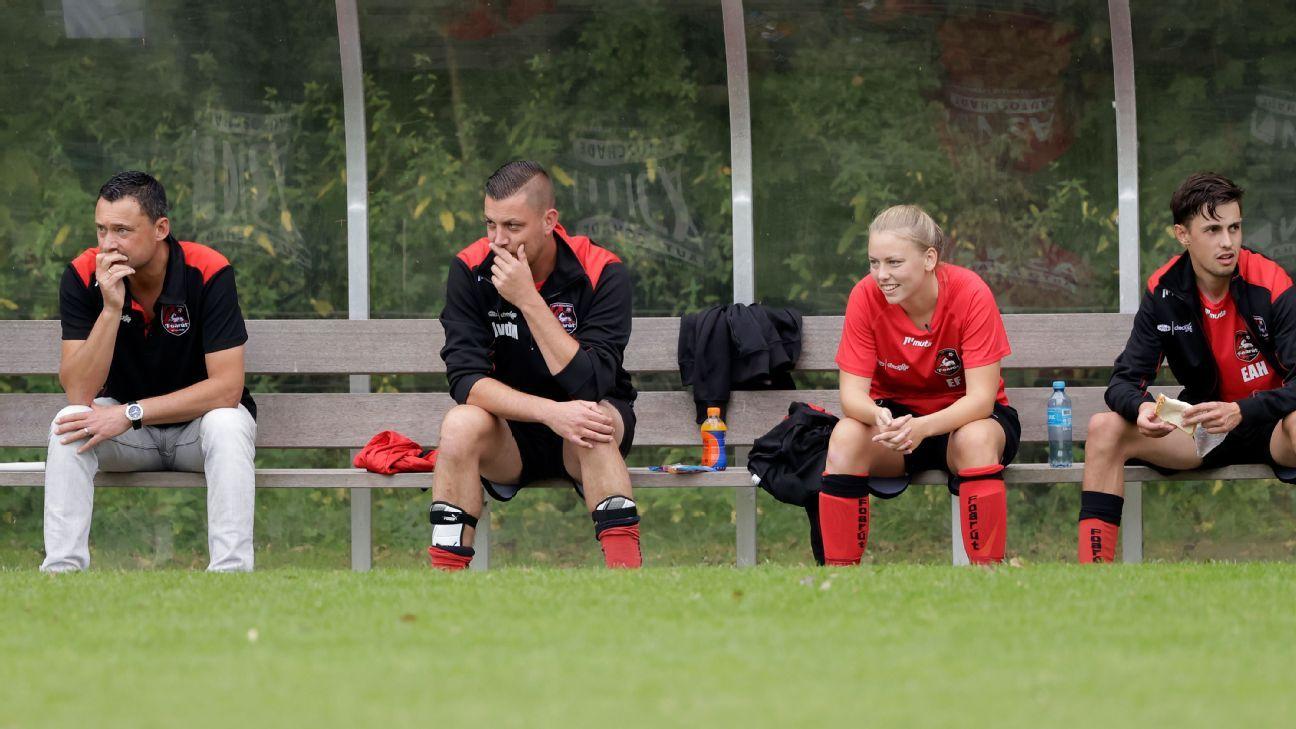 Ellen Fokkema's historic game for a Dutch men's team: