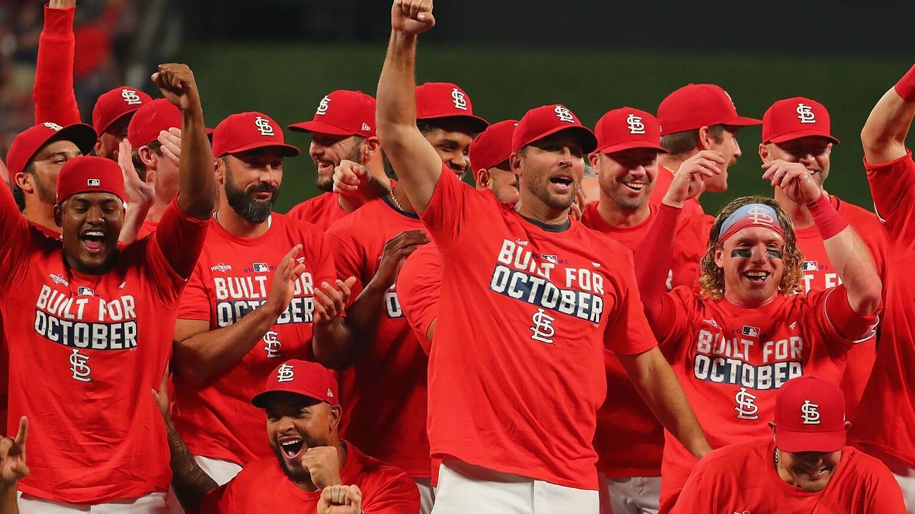 'Fighting' St. Louis Cardinals win 17th consecutive game, secure National League wild-card berth