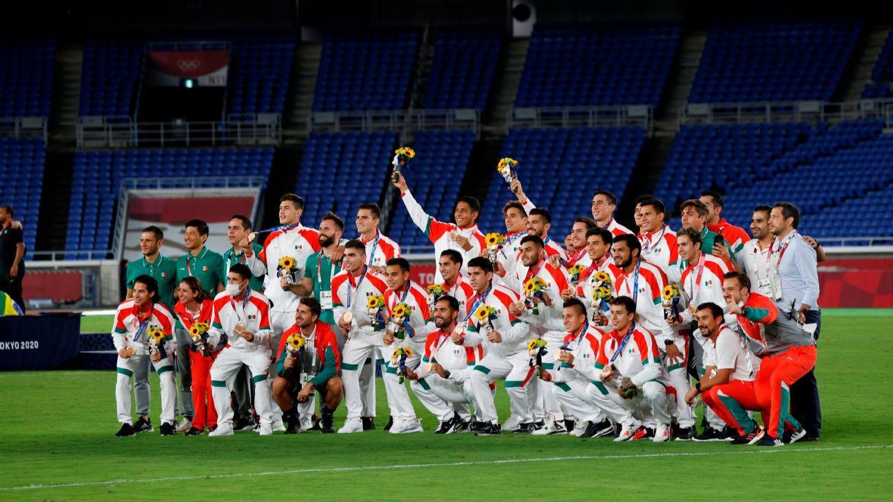 El Tri Olímpico recibirá casi siete millones de pesos por medalla de bronce en Tokio 2020