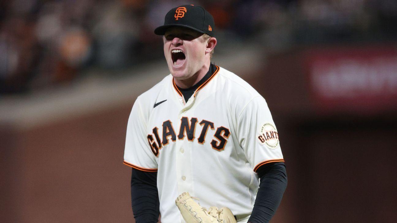 San Francisco Giants' Logan Webb shuts down Dodgers in Game 1 victory