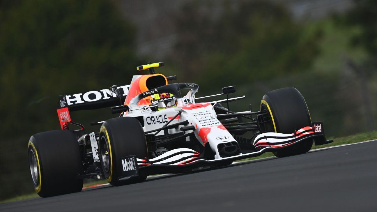 Checo Pérez arrancará sexto con su Red Bull el GP de Turquía