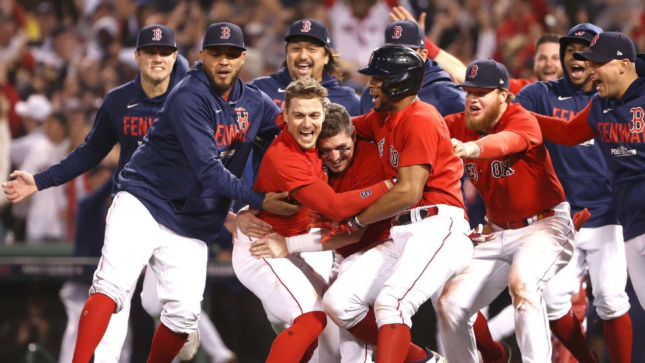 MLB playoffs 2021 - Fenway magic is in the air as Red Sox roll into ALCS