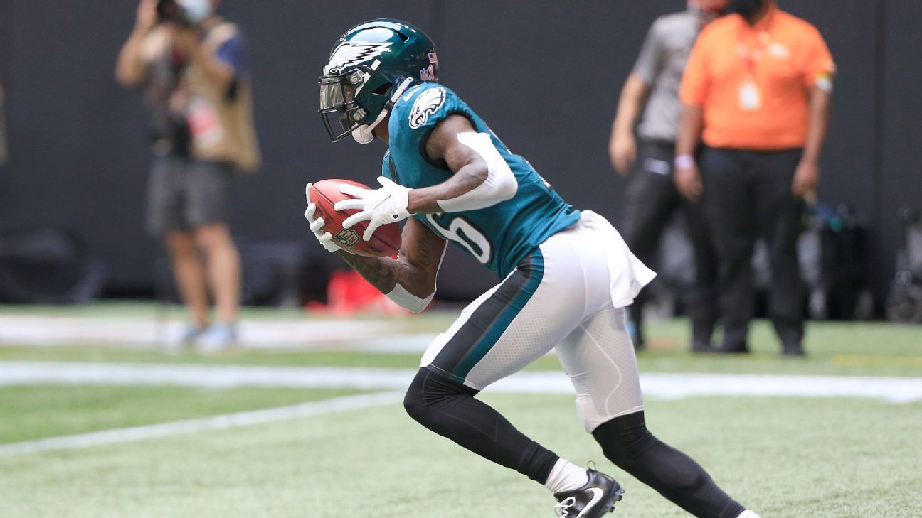 Fantasy football streaming pickups for Week 6 – Taylor Heinicke Quez Watkins and more – ESPN