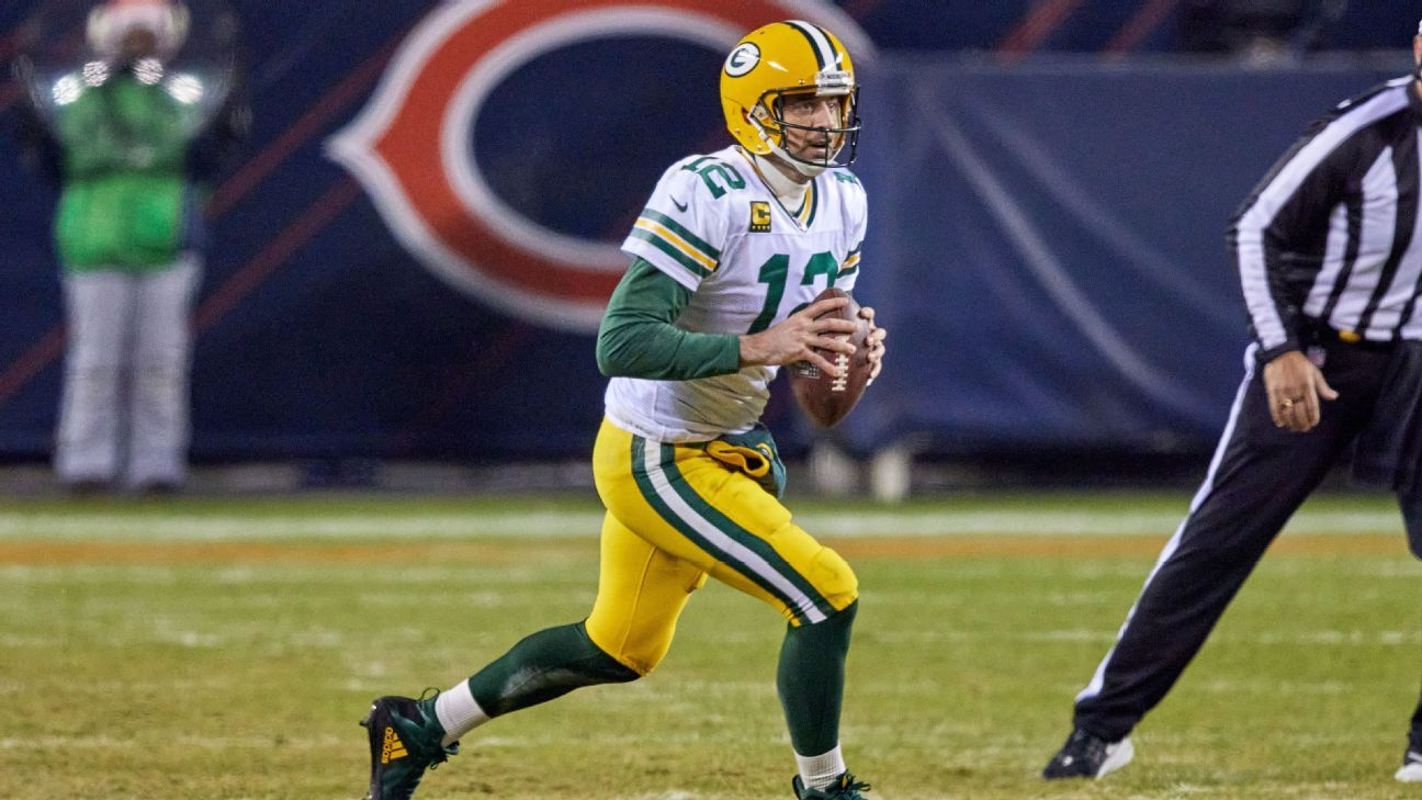 Aaron Rodgers runs out of time when trying to recall all of the Bears QBs since 2008