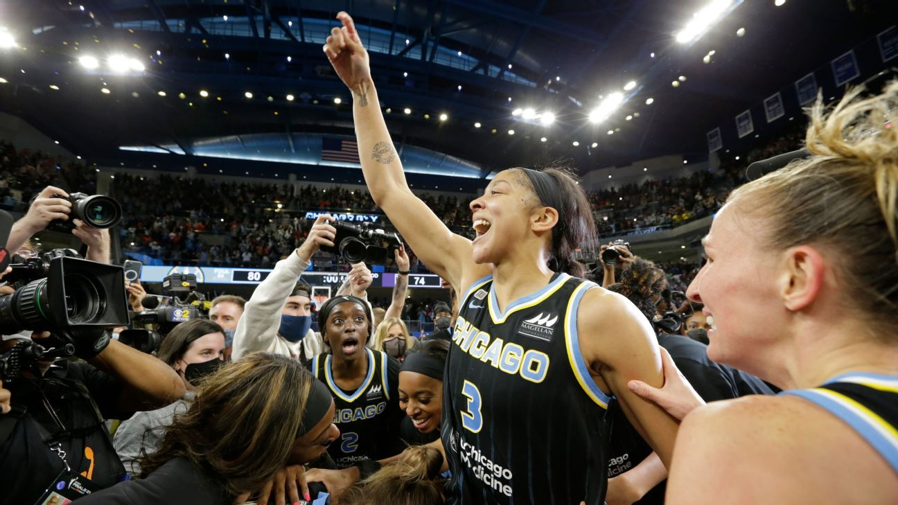 Parker's legacy comes full circle with second WNBA championship