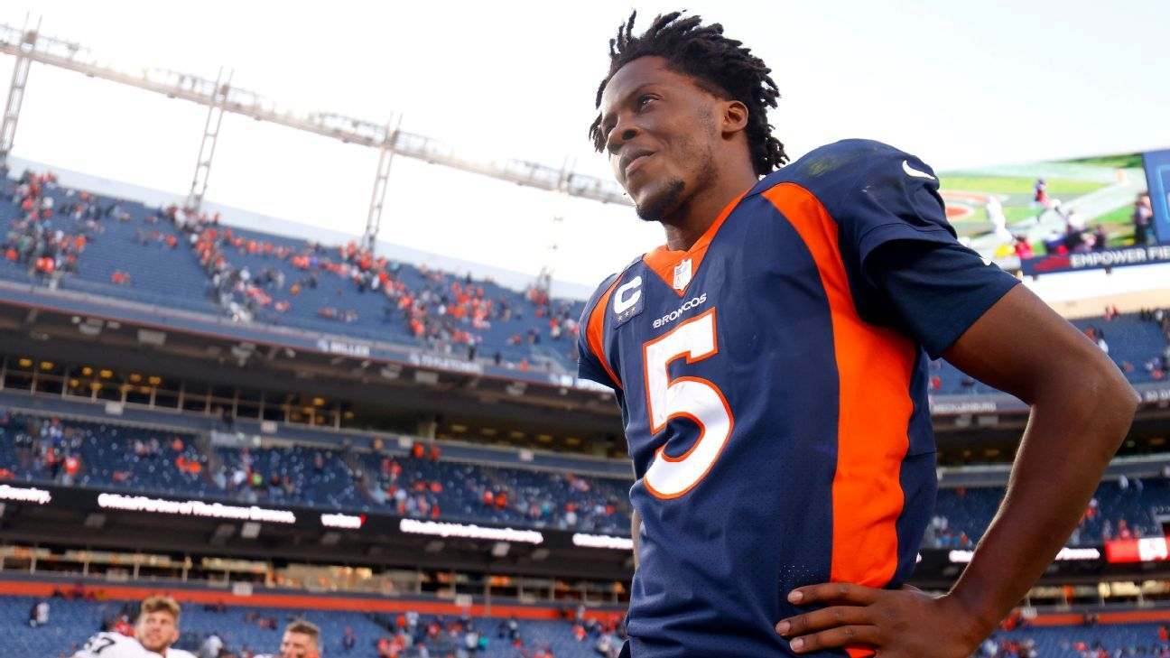 The Tao of Denver Broncos' Teddy Bridgewater – ESPN