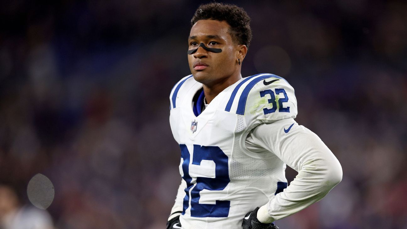 Indianapolis Colts' Julian Blackmon out for season after tearing Achilles