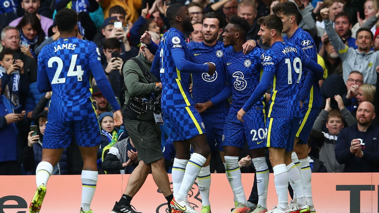 Chelsea's incredible squad depth on display in seven-goal rout of Norwich