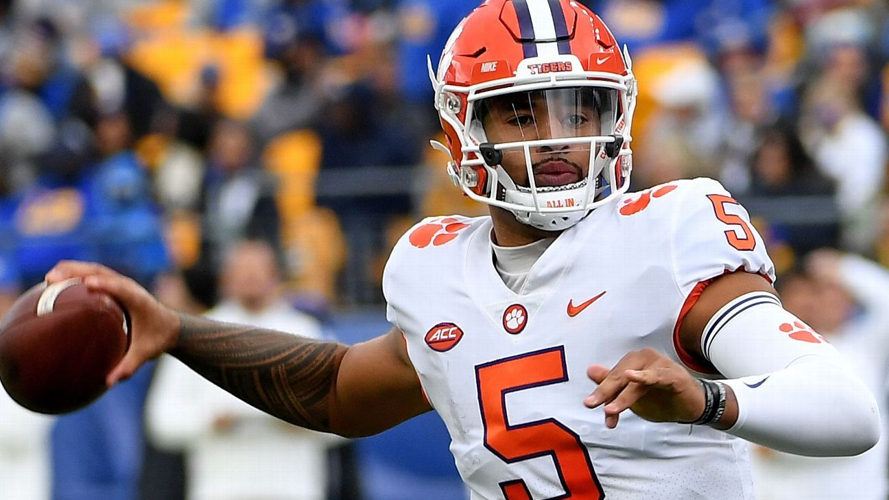 After Clemson Tigers' third loss, 'everything's under evaluation,' including D.J. Uiagalelei's status