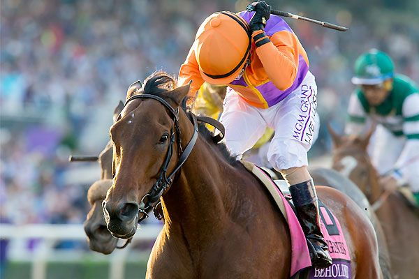 Beholder By A Nose Over Songbird In Thrilling Breeders