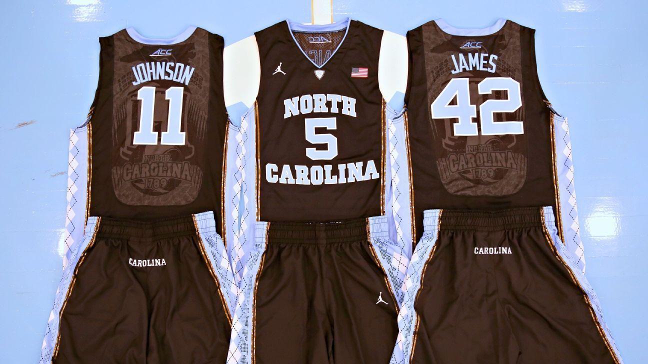 hot sale online 81a1a d70e0 North Carolina Tar Heels (unc) Black Blackout Basketball T ...