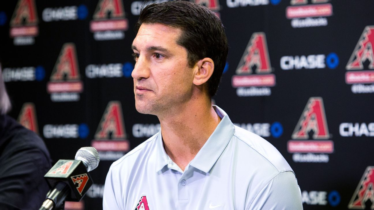 D-backs GM Hazen on leave as wife fights cancer