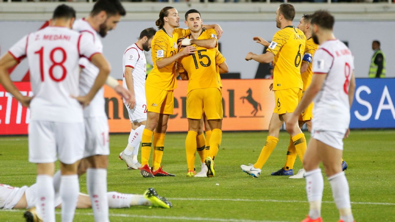 Asian Cup: Tom Rogic heroics send Australia to last 16; Jordan top group