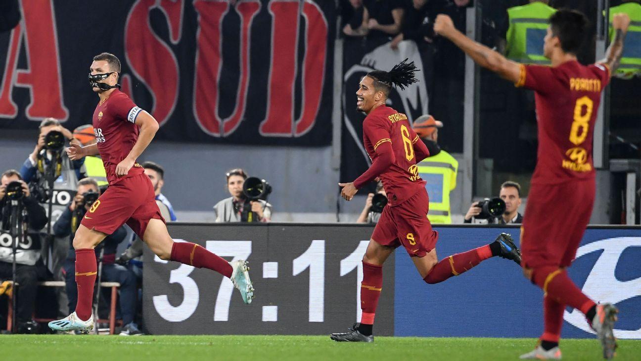 AS Roma vs. AC Milan – Football Match Report – October 27, 2019 ...